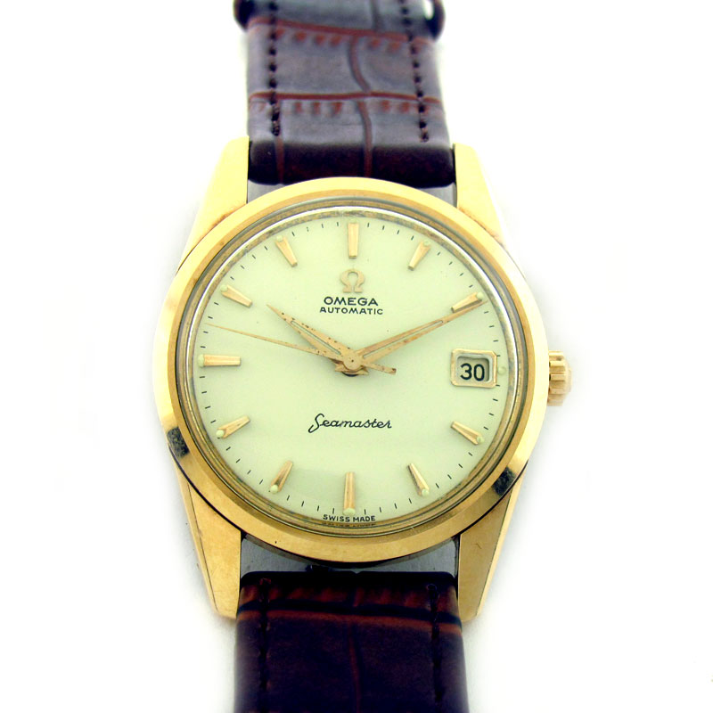 FOR SALE: OMEGA SEAMASTER DATE AUTOMATIC WATCH