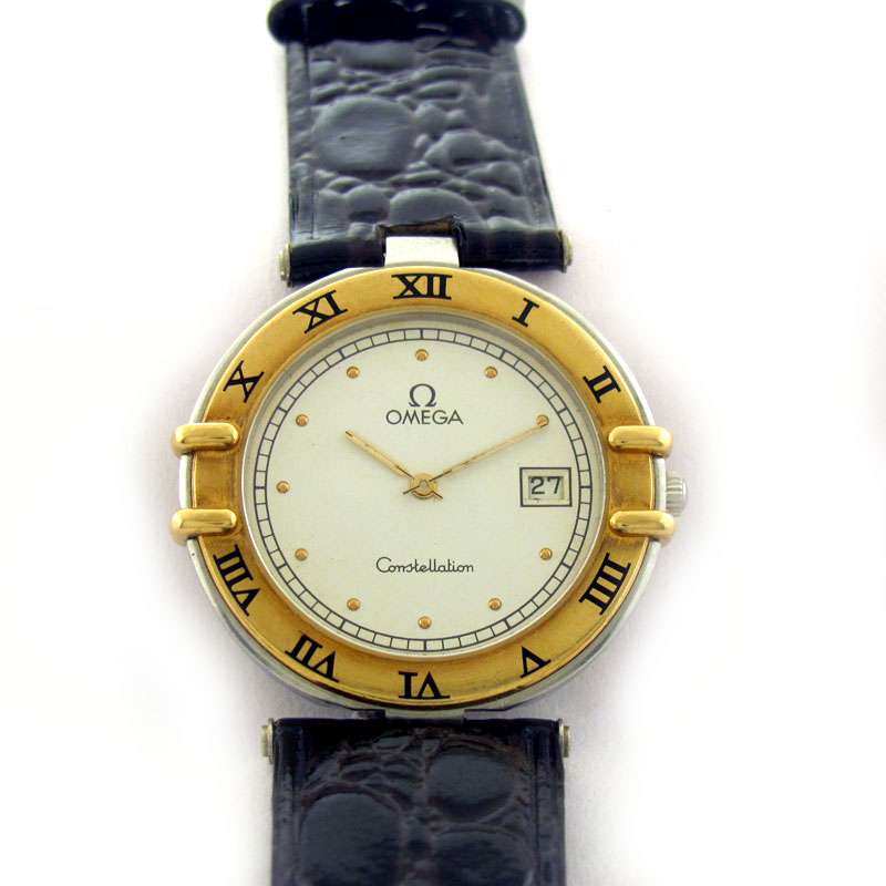 FOR SALE: OMEGA CONSTELLATION DATE QUARTZ WATCH