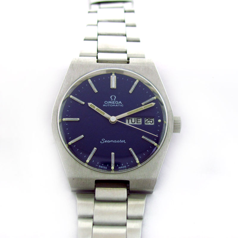 FOR SALE: OMEGA SEAMASTER DAY DATE AUTOMATIC WATCH