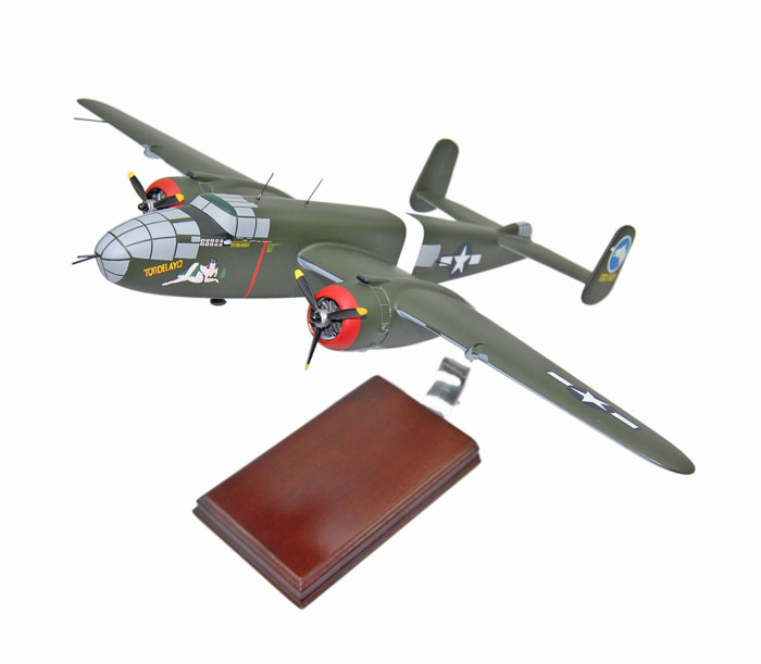 FOR SALE: B-25 Mitchell Tondelayo Model Airplane