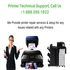 SERVICES: Printer Help Support Number  +1-888-205-1922