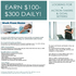 JOB OFFERED: Nothing like this! Post Ads and earn $100-$300 Daily!